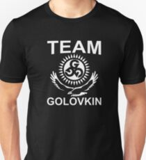 Yes I'm The Team Of Golovkin Unisex T-Shirt
