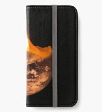 Candle Earth iPhone Wallet/Case/Skin