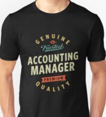 Accounting Manager Unisex T-Shirt