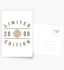 Postales Edición limitada 2000