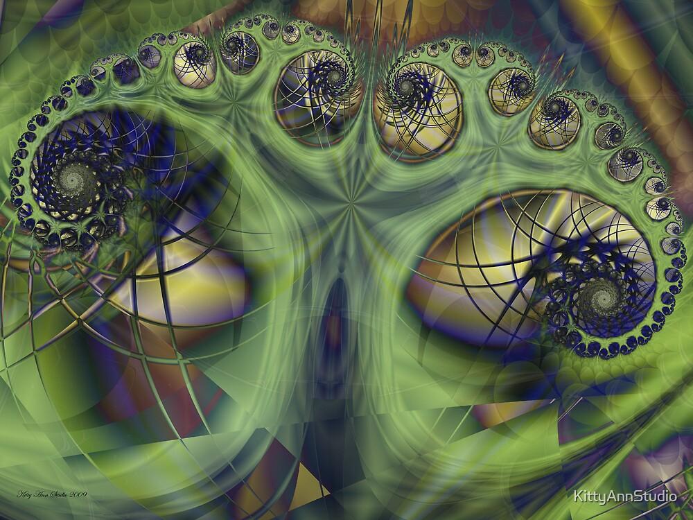 Abstract Tree by KittyAnnStudio