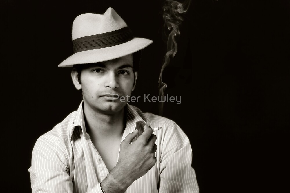 Harsh No 4 - The Smoker by Peter Kewley