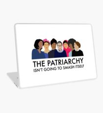 The Patriarchy Isn't Going to Smash Itself Laptop Skin