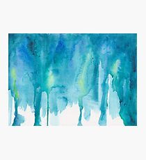 Abstract Watercolor Painting Photographic Print