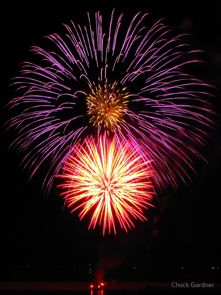 Happy New Year Oregon by Chuck Gardner