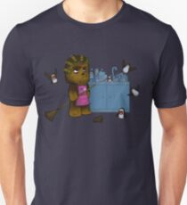 Chewbacca and the Porgs Unisex T-Shirt