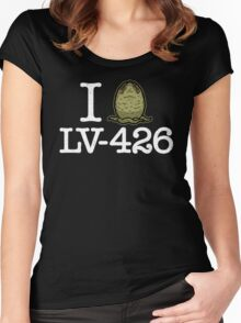 I Love LV-426 Women's Fitted Scoop T-Shirt
