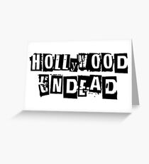 hollywood undead art new design hot 2018 Greeting Card