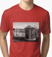 Tardis Tomb Tri-blend T-Shirt