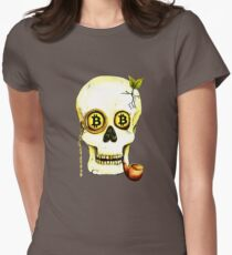 Baron Bitcoin Women's Fitted T-Shirt