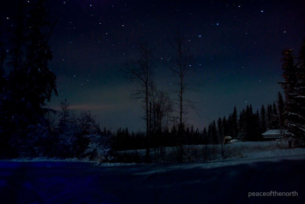 Heart of the Night by peaceofthenorth