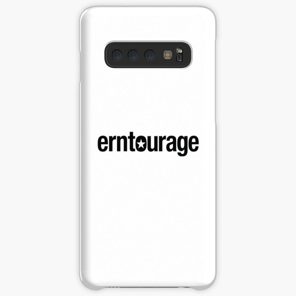 ERNtourage black font Case & Skin for Samsung Galaxy