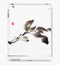 Autumn leaves sumi e iPad Case/Skin