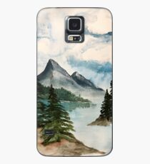 Cloudy Mountains Case/Skin for Samsung Galaxy