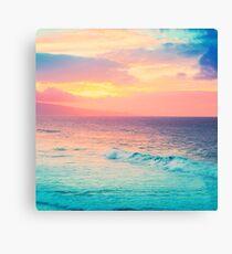 Hookipa Surf Sonnenuntergang Leinwanddruck