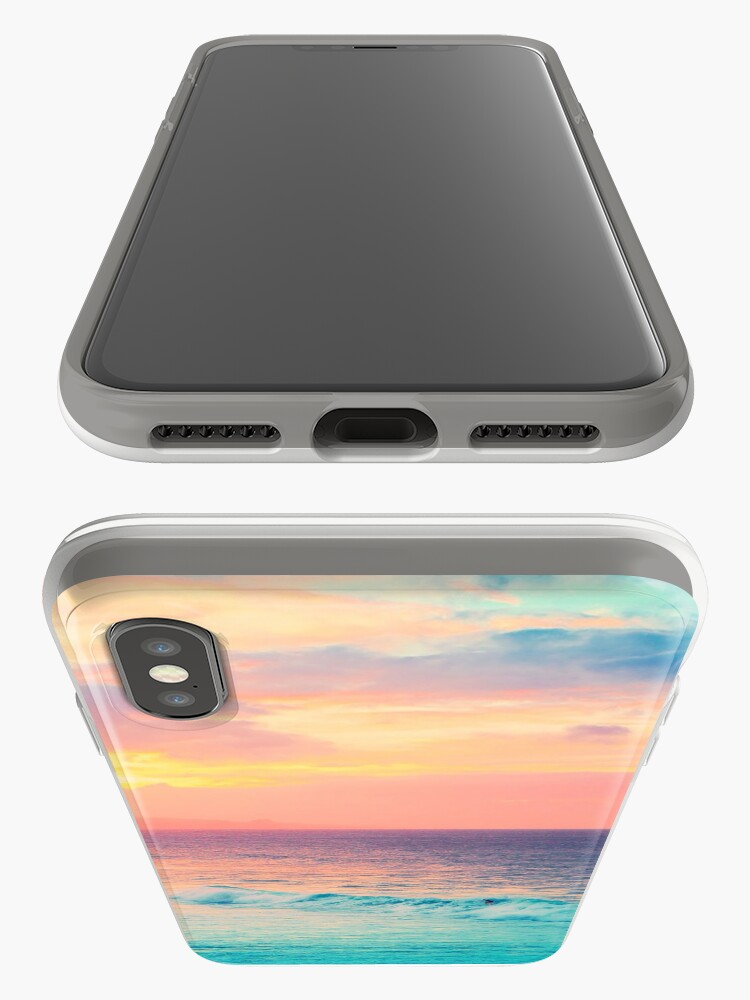 Alternative Ansicht von Hookipa Surf Sonnenuntergang iPhone-Hüllen & Cover