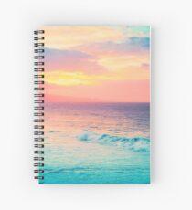 Hookipa Surf Sunset Spiral Notebook