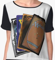 Nerd Cards Chiffon Top
