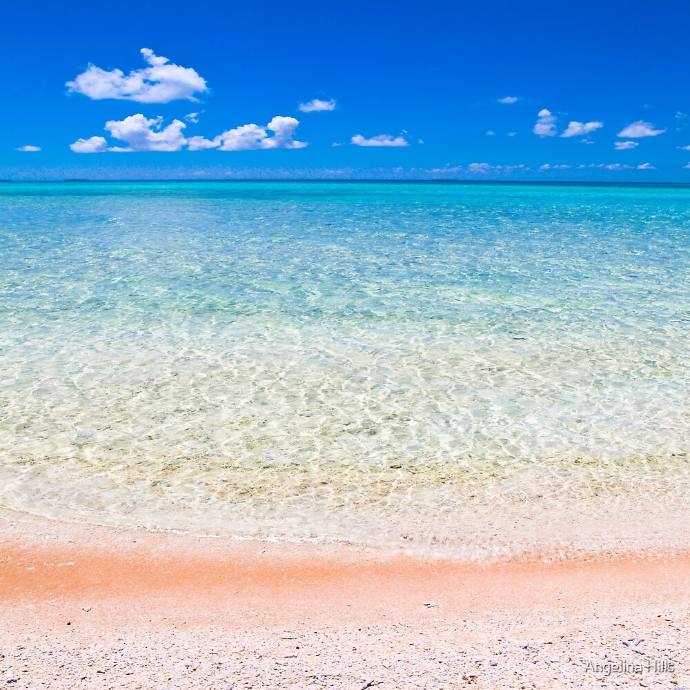 Tikeahu Pink Sand Beach by Angelina Hills