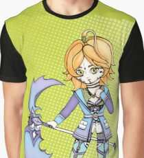 Blond manga girl Graphic T-Shirt
