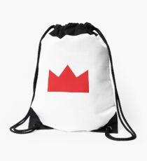 Red Crown Drawstring Bag