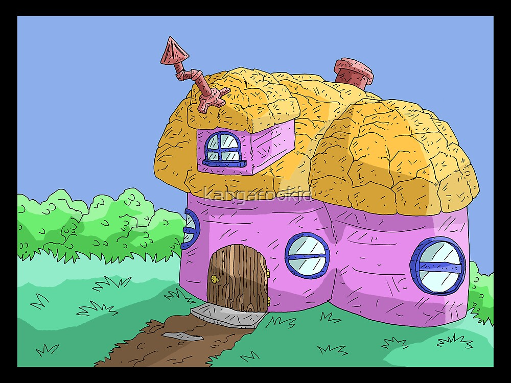mushroom house II (updated)... by kangarookid