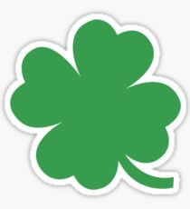 Four Leaf Clover for Good Luck Sticker