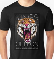 Kings of Leon Saratoga Performing Arts Center, New York Unisex T-Shirt