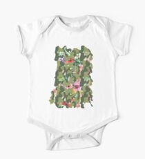 Floral camouflage One Piece - Short Sleeve