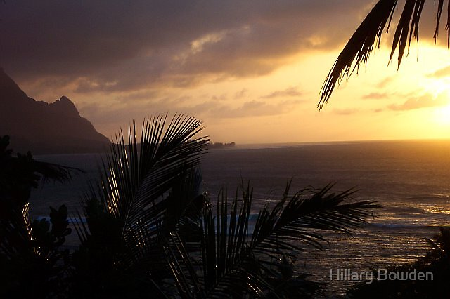 Sunset in Paradise by Hillary Bowden