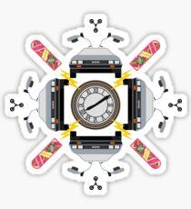 Great Scott Kaleidoscope Sticker