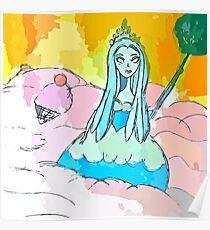 Queen Frostine Candy Land, Ruler of the Ice Cream Sea Poster