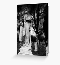 The Garden of Death II Greeting Card