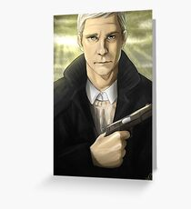 John Watson: An Unexpected Journey Greeting Card
