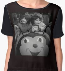 Children Fairground - Blackburn a Town and Its People Chiffon Top