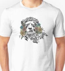 Liam the Lion - Florals Unisex T-Shirt
