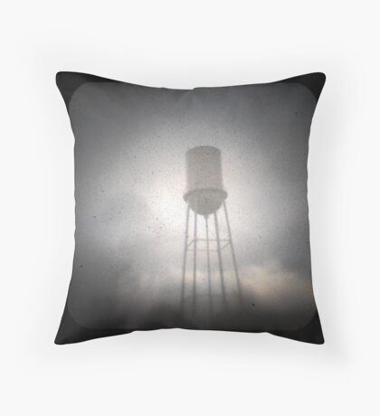 Water Tower TtV #2 Throw Pillow