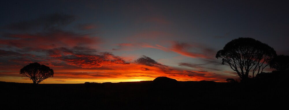 Sunset on the Bogong High Plains by Craig Ollis