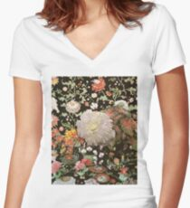 Live From The Garden Women's Fitted V-Neck T-Shirt