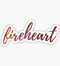 Fireheart- Throne of Glass Sticker