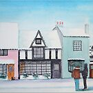 Snow on the Houses 3 by FrancesArt