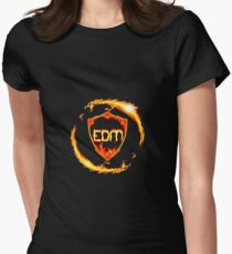 EDM Lit Women's Fitted T-Shirt