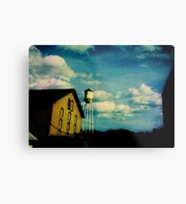 Painting the Sky with the Passage of Time Metal Print