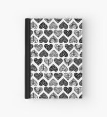 Wild Hearts in Black & White Hardcover Journal