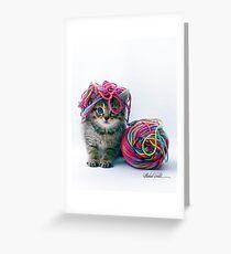 Yarn Hat Greeting Card