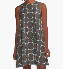 Time Traveler's Kaleidoscope A-Line Dress