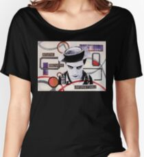 Abstract Buster Women's Relaxed Fit T-Shirt