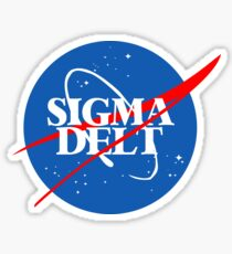 NASAgma Delt Sticker