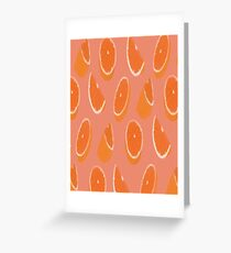 oranges  Greeting Card