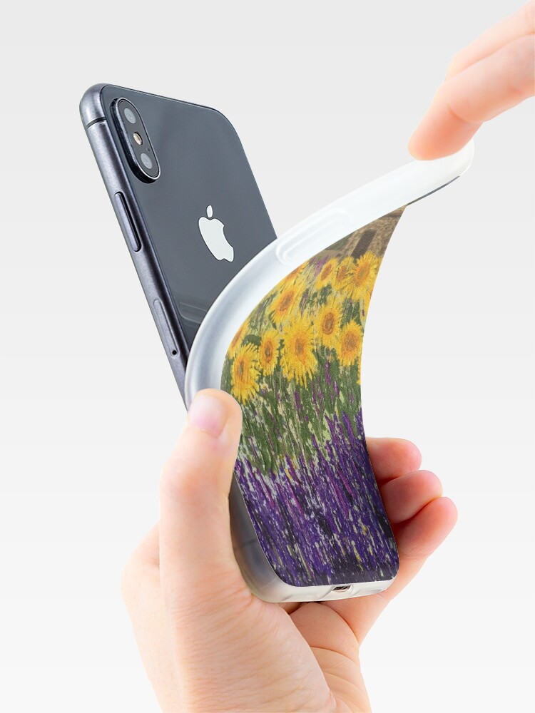 Alternate view of Fields of Provence iPhone Cases & Covers